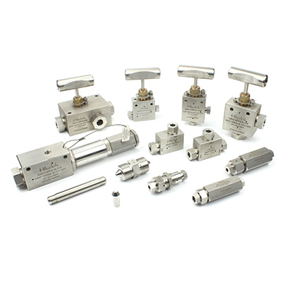 High Pressure Valves,Fittings and Tubing