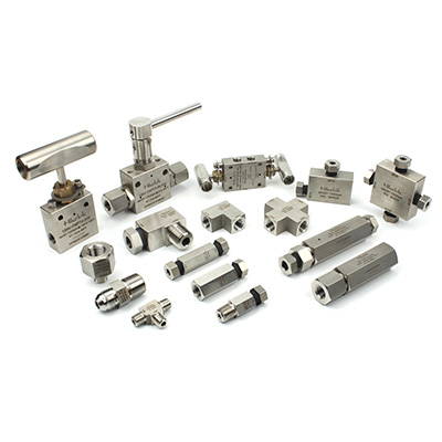 Low Pressure Valves,Fittings and Tubing